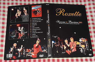 Roxette - Showcase Live in Barcelona 2001 DVD FAN EDITION