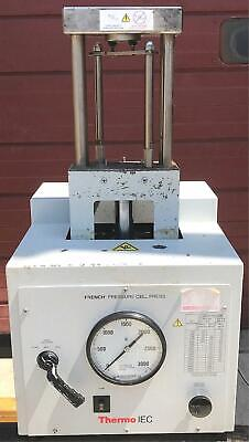 THERMO IEC FA-078A LABORATORY FRENCH PRESSURE CELL PRESS 3000psi WATCH VIDEO