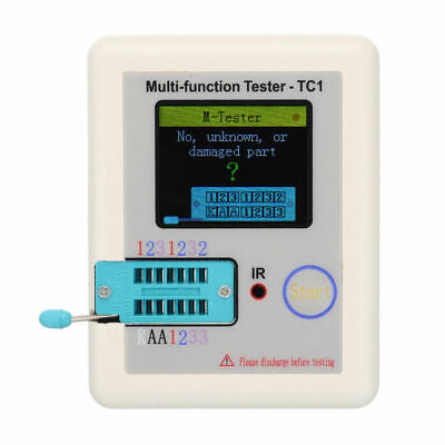 Pocketable Multifunction Transistor Tester LCR-TC1 &Full Color &Graphics Display