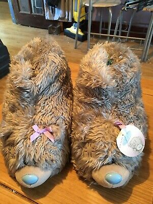 Tatty Teddy Slipper Boots Me To You Carte Blanche 3-5 Adult