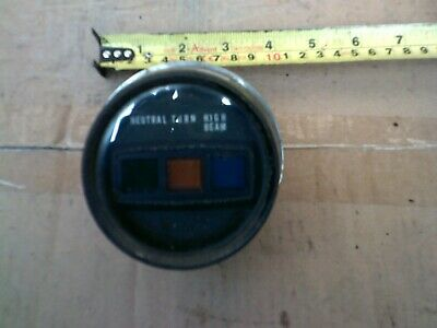 honda cm125 idiot warning lights clock