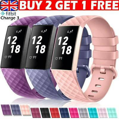 Fitbit Charge 3 Wrist Straps Wristbands Best Replacement Accessory Watches Bands