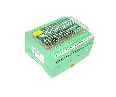 Phoenix Contact Emg 90-Dio Diode Module Din Rail Mount 32 Dioded