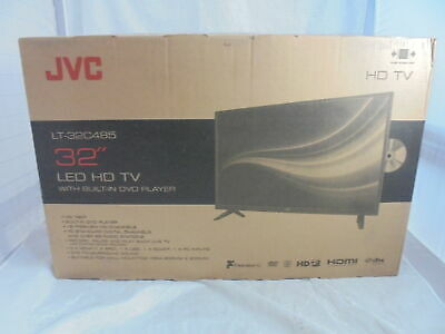 """JVC LT-32C485 32"""" LED TV with Built-in DVD Player - Currys"""