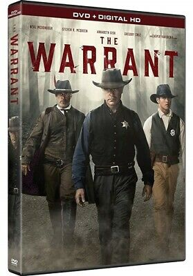 THE WARRANT New Sealed DVD Neal McDonough Annabeth Gish Casper Van Dien