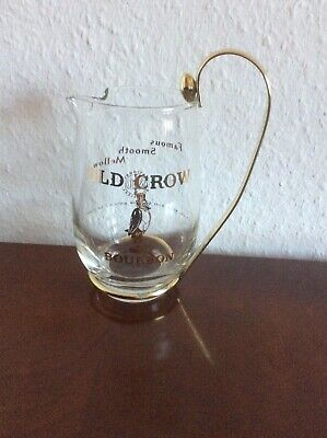 """OLD CROW - BOURBON""  Whisky Eiswasser Karaffe"