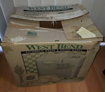 West Bend 41028 Automatic Bread & Dough Maker - Tested Works