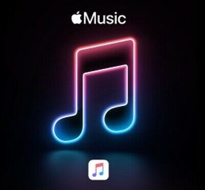 Apple Music 4 Months USA Code Fast Delivery Message