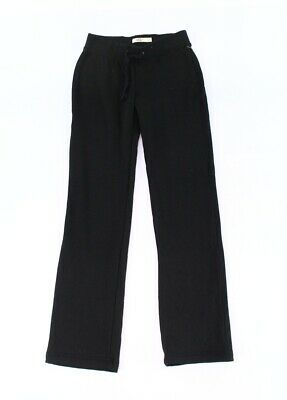 UGG Women's Pants Black Size Large L Relaxed Fit Drawstring Stretch $75- #704