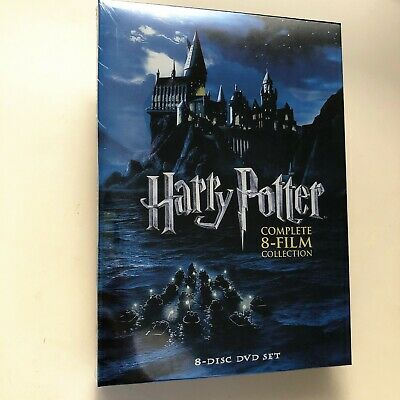 Harry Potter Season 1-8 Complete Collection (DVD, 2011, 8-Disc Set) New Sealed