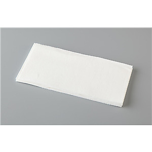 1000 Napkins Dinner Quilted Gt Fold White