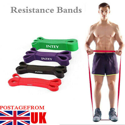 Resistance Bands Assisted Pull Up Bands Profession Power Lifting Exercise UK