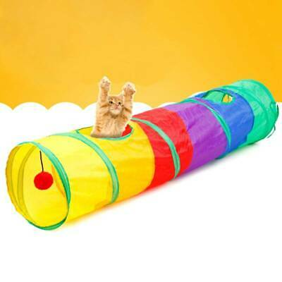 Animal Pop Up Crawl  Tunnel Tube Play Tent Toy Indoors/outdoors Garden Game Shfb