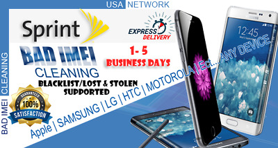 Sprint USA Unbarring / Cleaning Service iPhone & Android Devices Premium 100%🔥