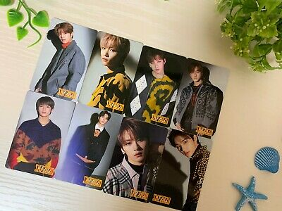 "Stray Kids Japan debut album ""SKZ2020"" Official photocard  Chooseble 8 Full Set"
