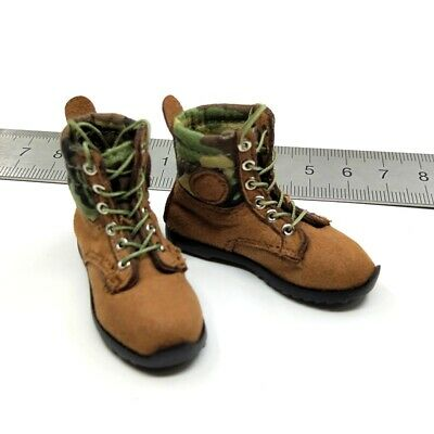 FLAGSET FS73023 1/6 Scale Chinese Army Airborne Forces PLAAF Boots Model Hollow