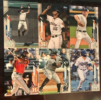 2020 Topps Baseball Series 1 Base and Rookie Cards # 251-350 You Pick/Choose