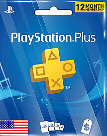 PlayStation Network card PS PLUS 1 year USD ACCOUNT
