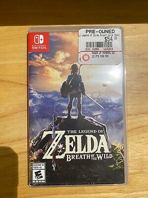 Legend of Zelda: Breath of the Wild (Nintendo Switch, 2017)
