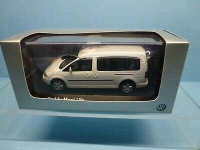 Minichamps 1/43 Vw Caddy Maxi Life In White ~ Boxed