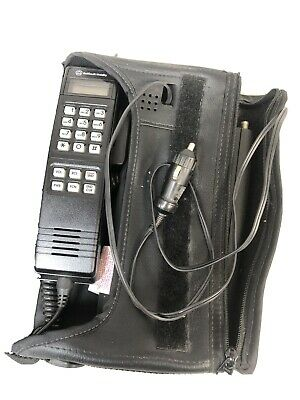 Vintage 1980's Cell Car Bag Phone Bellsouth Mobility Cellular Telephone