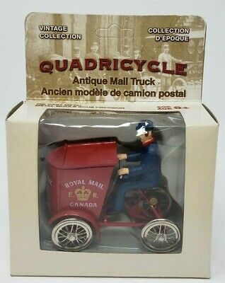 QUADRICYCLE ANTIQUE MAIL TRUCK Vintage Collection Diecast Mail Canada