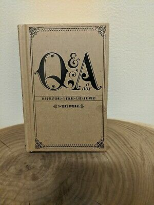 Q&A a Day: 5-Year Journal by Potter Style (2010, Diary, Journal, Blank Book)