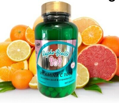 Vitamin C 1000 mg Support Healthy Immune System FREE BONUS CRAMBERRY DEFENSE