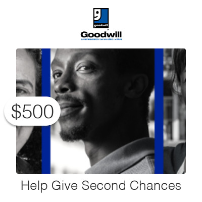 $500 Charitable Donation For:  Second Chance Employee Relief Fund