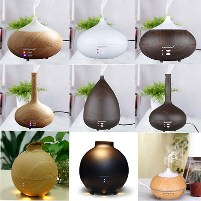 Ultrasonic Essential Oil Aroma Diffuser LED Air Humidifier Home Aromatherapy