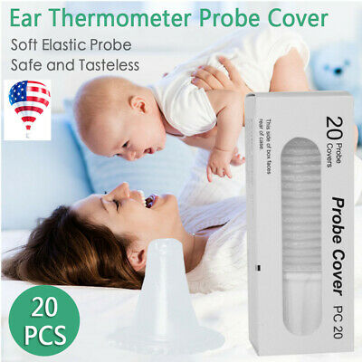 100x Braun Probe Covers Thermoscan Replacement Lens Ear Thermometer Filter Cap m