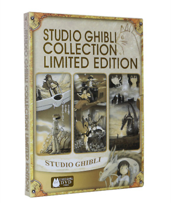 [Studio Ghibli Collection Limited Edition] DVD 18 Movies Miyazaki Films Classic