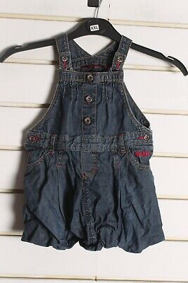 Ted Bakers Girls Kids Youths Denim Dress - Blue - Size Age 2-3 Years (EE1)