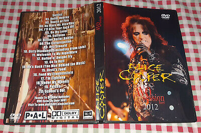 Alice Cooper - AVO Session 2012 Live Basel DVD SPECIAL FAN EDITION
