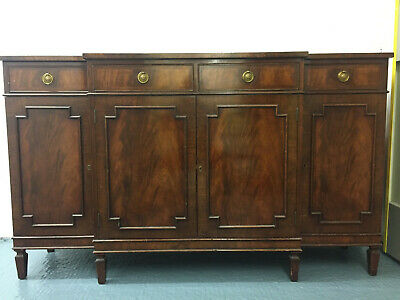 1930s Art Deco walnut-finish sideboard, good condition. Local collection only.