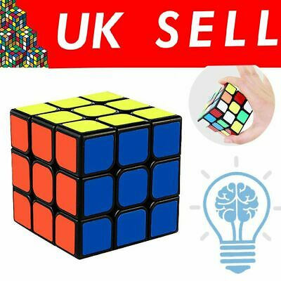 3X3 Kids Rubiks Cube Fun Original Toy Rubic Magic Mind Game Classic Rubix Puzzle