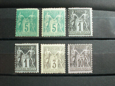 France lot timbres neufs  type Sage
