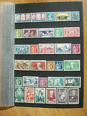 France lot timbres neufs