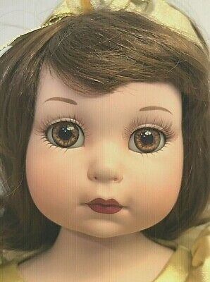 1998 Disney Marie Osmond Porcelain Baby Belle Collectible Doll #0096