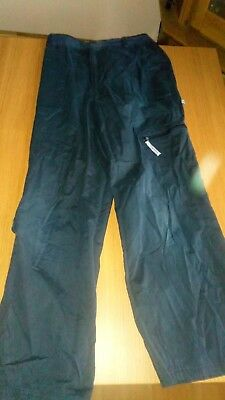 Girls Olympus Navy Trousers - size MG