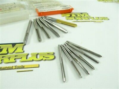 12 Mostly New! Assorted Sti Hss Taps M2.5X0.45 6-32 8-32 10-24 10-32 Helicoil
