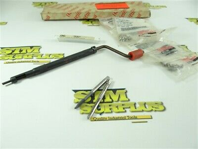 HELICOIL INSERTION TOOL, 2 TAPs & INSERTS #6-32