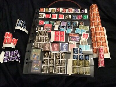 British Postal Postage Unused, Many MINT