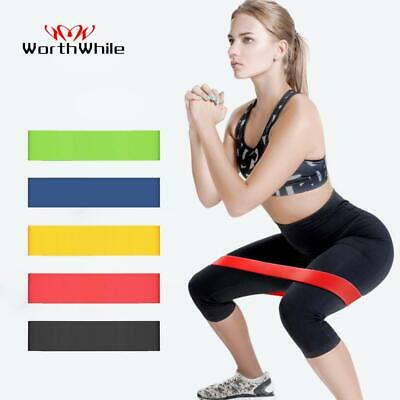 Gym Fitness Resistance Band Yoga Stretch Pull Up Assist Rubber Exercise Training