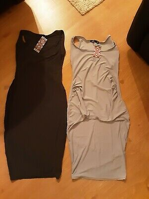 2 Pack Maternity Bodycon Dress Bundle