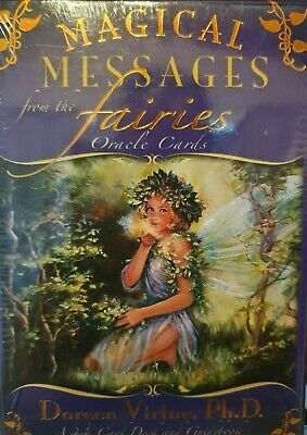 Canadian Seller - Magical Messages From The Fairies Oracle Cards - Free Shipping