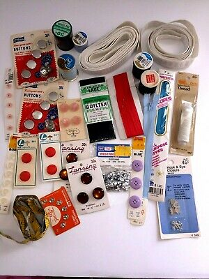 Sewing Notions Vintage Lot of 26  Misc. Items