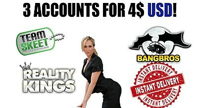 Teamskeet + Bangbros + Reality Kings | Premium Instant Delivery