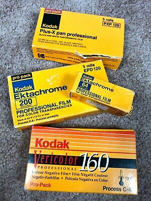 LOT of 15 New Rolls KODAK 120 Film EXPIRED Ektachrome Vericolor Plus-X Lomo Vtg