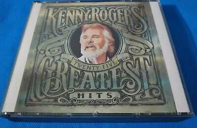 25 Greatest Hits by Kenny Rogers (CD-1987, 2 Discs, EMI Music Distribution)
